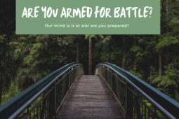 How do we do battle with an invisible enemy?